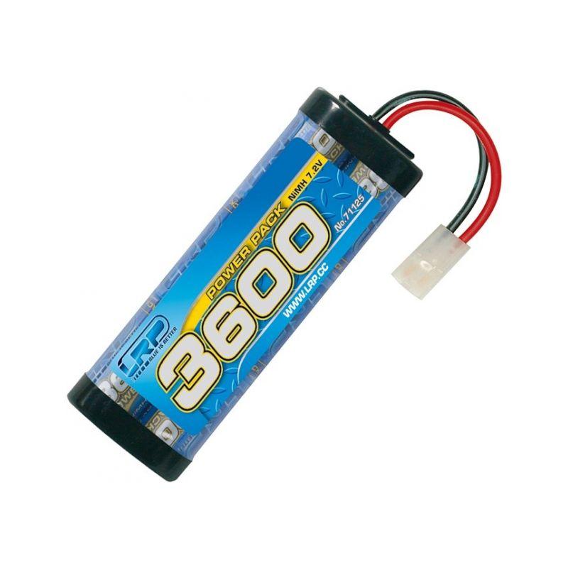 Power Pack 3600 - 7.2V - 6 článkový NiMH Stickpack - 1
