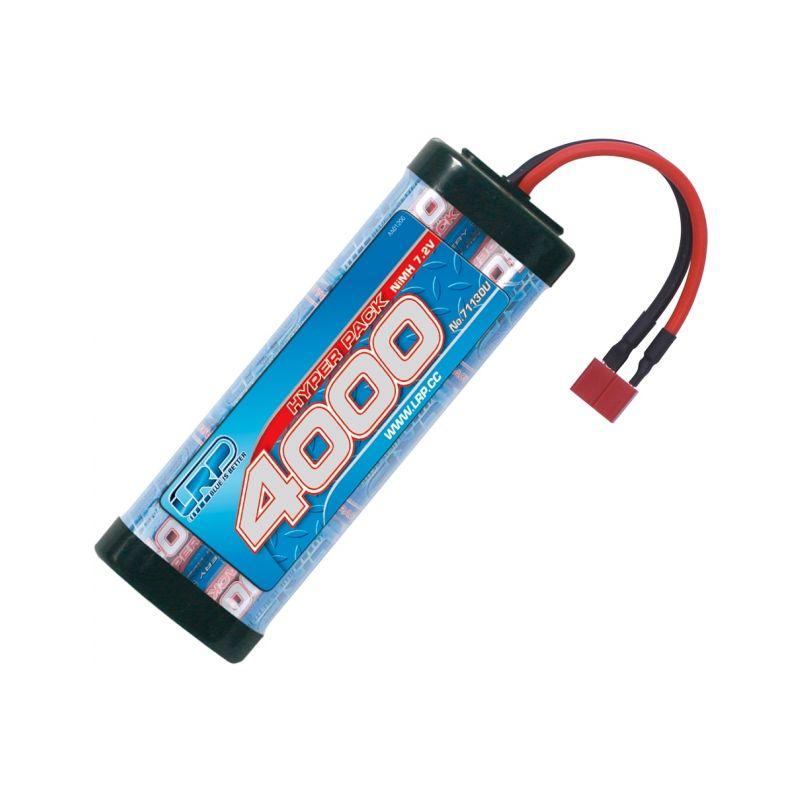 Hyper Pack 4000 - 7.2V - 6 článkový NiMH Stickpack - US - 1