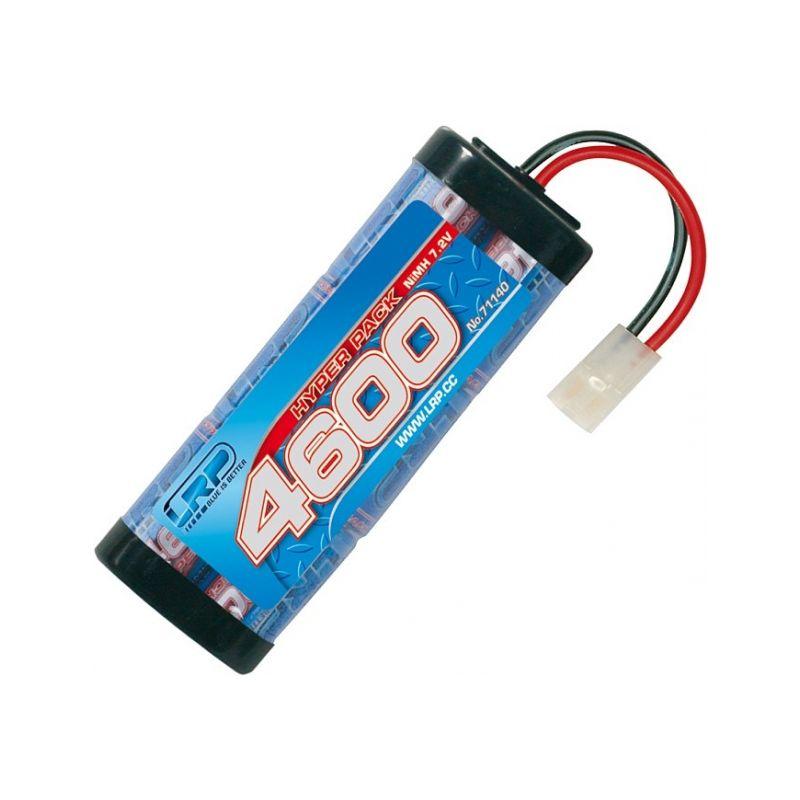 Hyper Pack 4600 - 7.2V - 6 článkový NiMH Stickpack - 1