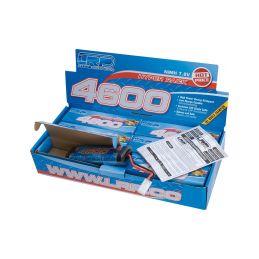 Hyper Pack 4600 - 7.2V - 6 článkový NiMH Stickpack - 7