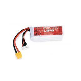 Power Pack LiPo 6/1200 22,2 V 70C XT60 - 1