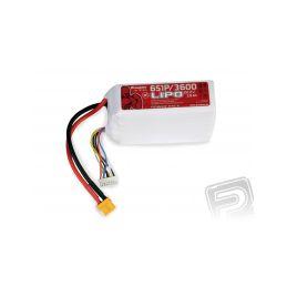 Power Pack LiPo 6/3600 22,2 V 30C XT60 - 1
