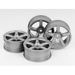 24mm Arched 5-spoke wheels...