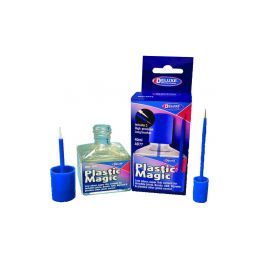 Plastic Magic bezbarvé lepidlo na plasty 40ml - 1