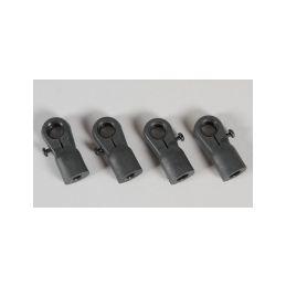 Plastový kloubek pro M6 záv., nastavitelný 4ks. - 1