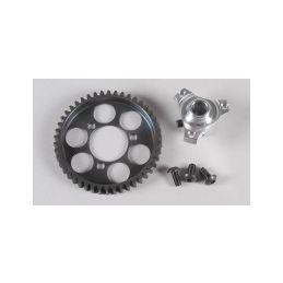 Ocelové ozubené kolo 46 zubů včetně adaptéru, sada - 1