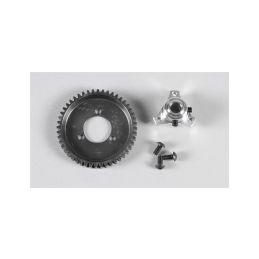 Ocelové ozubené kolo 48 zubů včetně adaptéru, sada - 1