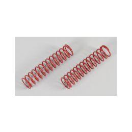 Pružiny tlumičů, červené 2,2x100mm, 2ks. - 1