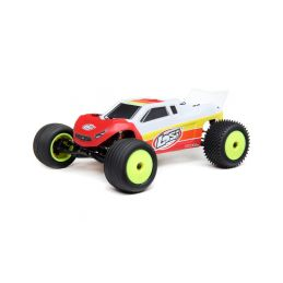 Losi Mini-T 2.0 Brushless 1:18 RTR červená - 1