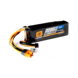 Spektrum Smart LiFe 9.9V 2200mAh Rx IC3 - 1