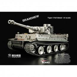 1/8 RC Tiger I celokovová...