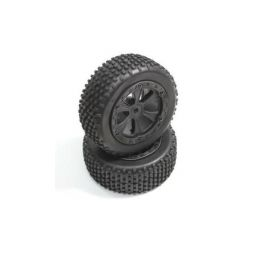 Absima 1230033 - Front Tire Set (2) Buggy - 1