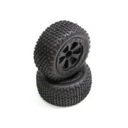 Absima 1230061 - Rear Tire Set (2) Buggy - 1