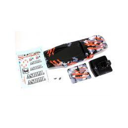 Absima 1230120 - Body camouflage/orange Sand Buggy - 1