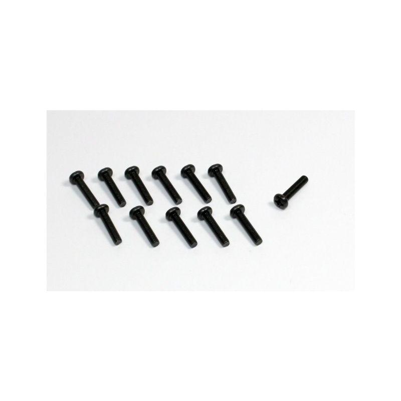 Absima 1230102 - Head Cross screw M3x12 (12) Sand Buggy - 1