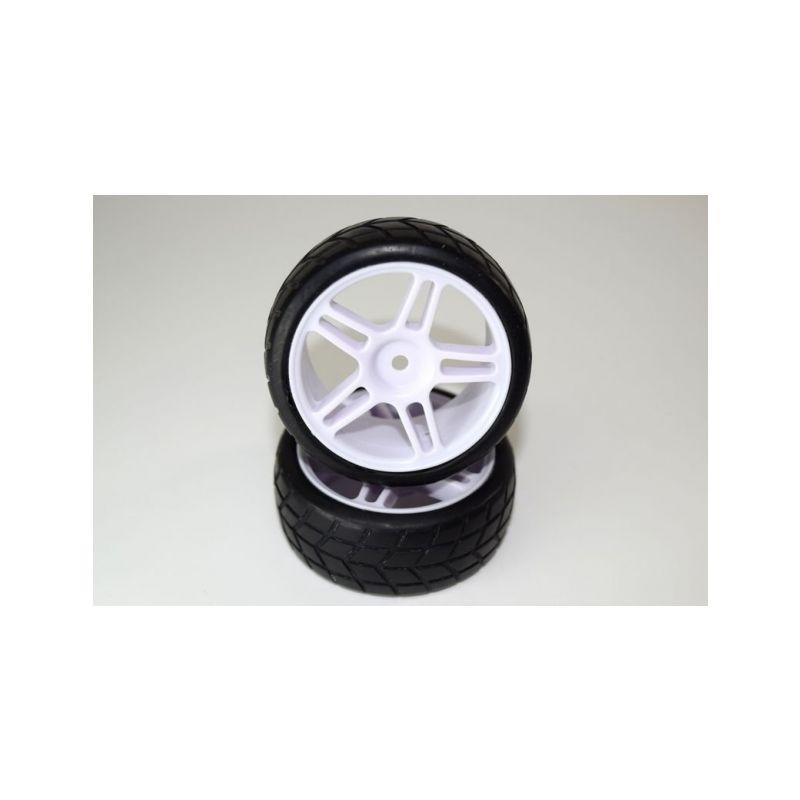 Absima 1230207 - Tire set glued (2) ATC 2.4 RTR/BL - 1