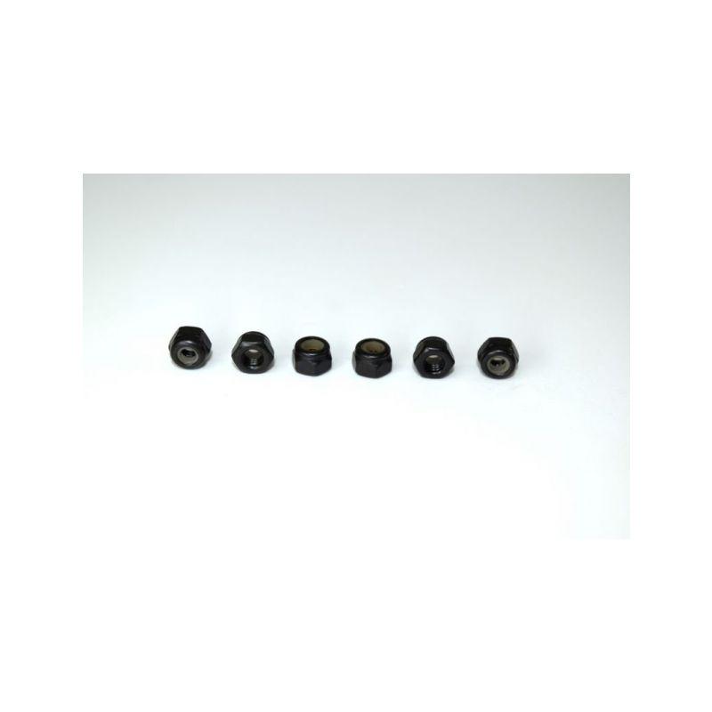 Absima 1230219 - Nylon nut M3 (6) ATC 2.4 RTR/BL - 1
