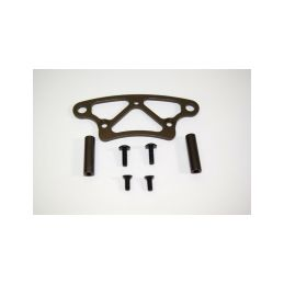 Absima 1230248 - Aluminum front bumper upper plate ATC 2.4 RTR/BL - 1
