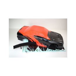 Absima 1230251 - Body red/black/grey ATC 2.4 RTR/BL - 1