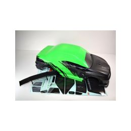 Absima 1230252 - Body green ATC 2.4 RTR/BL - 1