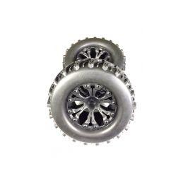 Sada pneu Monster 1:10 včetně disků, 2ks - 1