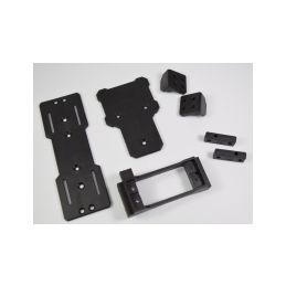 Absima 1230401 - Servo, ESC & Battery Mount Set - 1