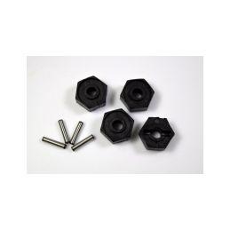 Absima 1230434 - Wheel Hex. 12mm W/Pins (2x10) - 1