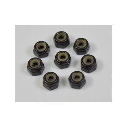 Absima 1230440 - Nylon Nuts M4 - 1