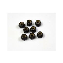 Absima 1230442 - Nylon Nuts M2.5 - 1