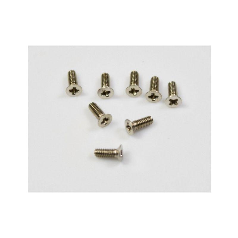 Absima 1230450 - Countersunk Screw M2x6 - 1