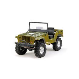 Absima 2410074 - Karosérie Absima CR2.4 Jeep 1:10 zelená - 1