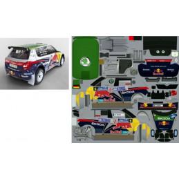 Fabia  S 2000 - Redbull verze