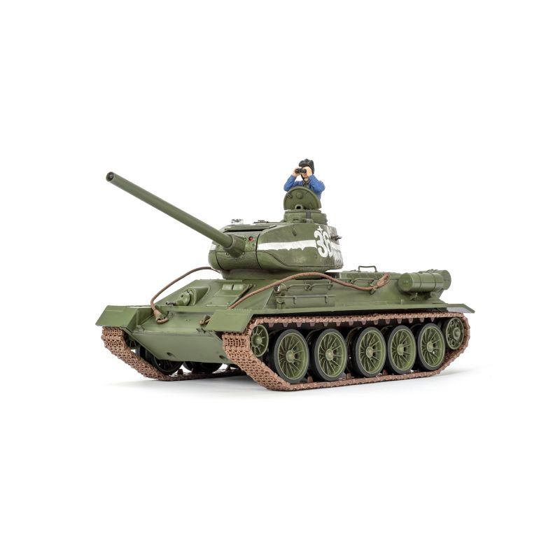 T-34/85 RC tank 1:24 2,4GHz s infračerveným bojovým systémem - 1