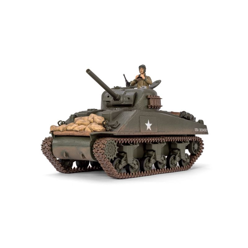 M4A3 Sherman RC tank 1:24 2,4GHz s infračerveným bojovým systémem - 1