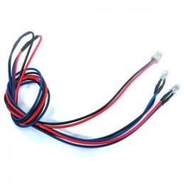 Modré LED diody 5mm/1...