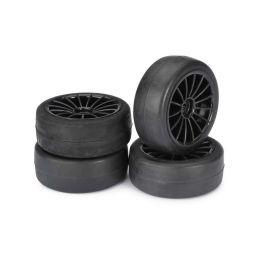 Sportovní pneumatiky 1:10 včetně disků, sada 4ks - 1