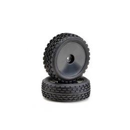 Absima buggy pneu včetně disku 2WD 1:10 přední, 2ks - 1