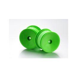 Disky Buggy 2WD/4WD 1:10 zadní, 2ks, zelené - 1