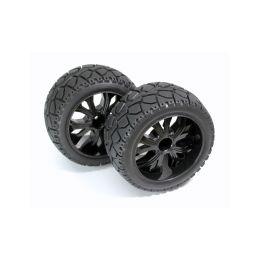 Silniční pneu Truggy Street 1:10, zadní, 2ks - 1