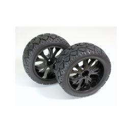 Silniční pneu Truggy Street 1:10, přední, 2ks - 1