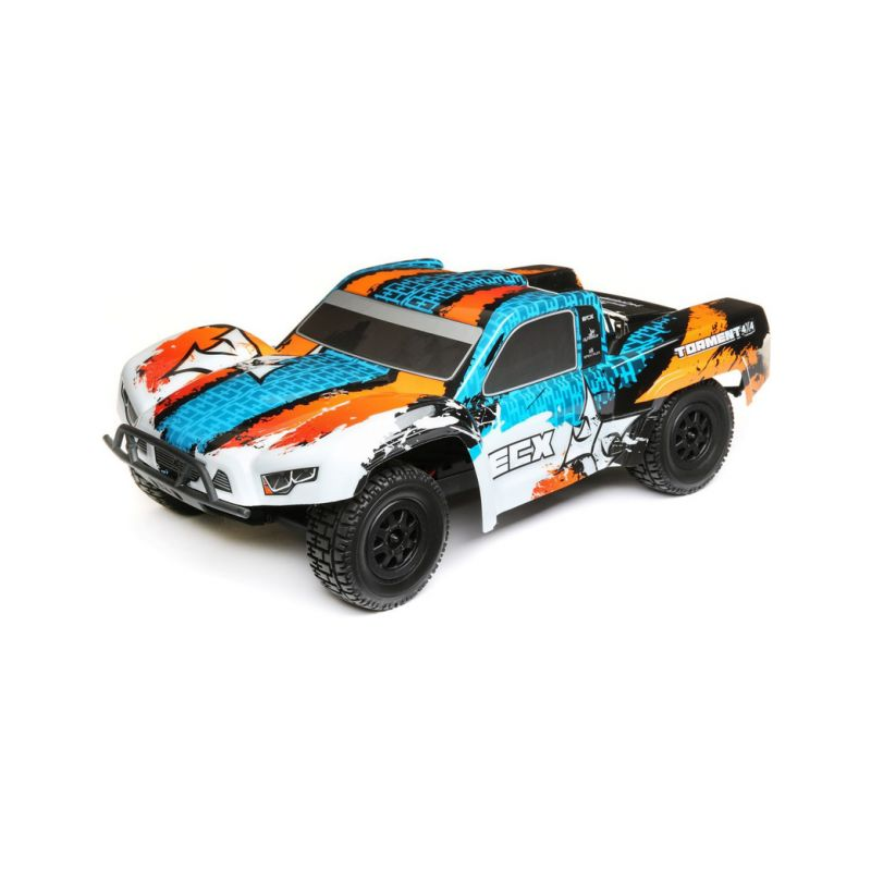 ECX Torment 4WD 1:10 RTR modrý - 1