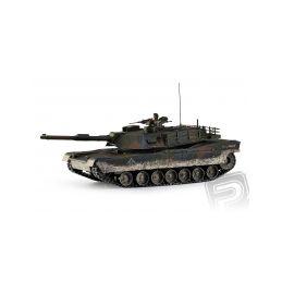 M1A1 Abrams 1:16 RC tank 2.4GHz, patinovaný - 1