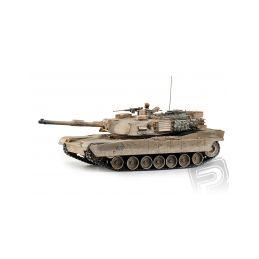 M1A2 Abrams 1:16 RC tank 2.4GHz, patinovaný - 1