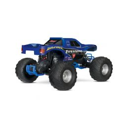 Traxxas Big Foot 1:10 RTR modrý - 19