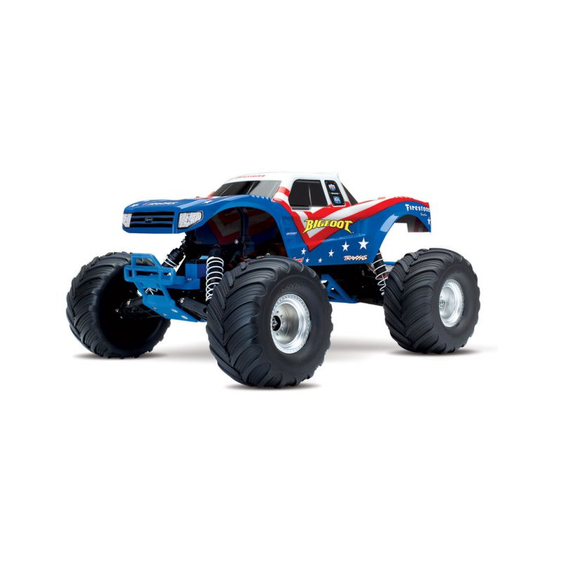 Traxxas Big Foot 1:10 RTR bílý - 1