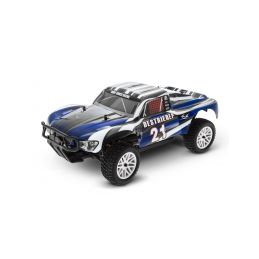 HIMOTO Short Course 1/10 scale RTR 4WD 2,4GHz - modré - 1