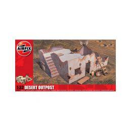 Airfix diorama Desert Outpost (1:32) - 1