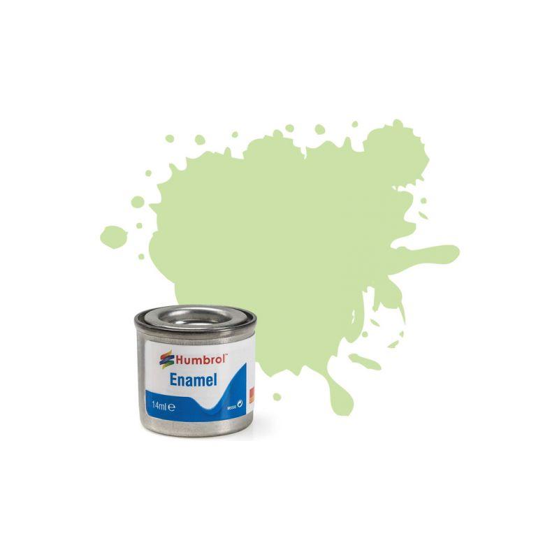 Humbrol emailová barva #36 pastelová zelená matná 14ml - 1