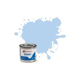 Humbrol emailová barva #44 pastelová modrá matná 14ml - 1