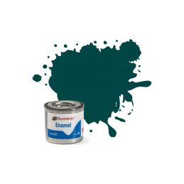 Humbrol emailová barva #239 závodní zelená lesklá 14ml - 1